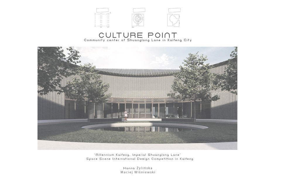 Culture Point  – Community Center of Shuanglong Lane in Kaifeng City