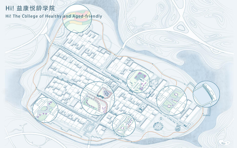 Hi!  益康悦龄学院 /  Hi! The College of Healthy  and Aged-friendly