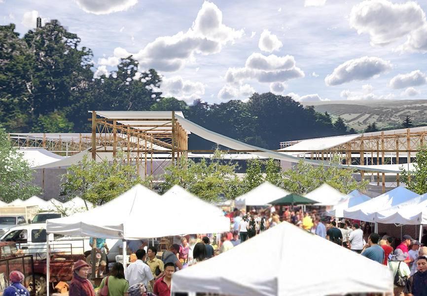 大地之系——联系游客与在地土地生产的菜市场设计