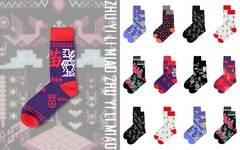 立足——黎苗民族系列长袜